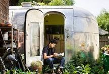 ♥ AIRSTREAM TRAILERS / Dreaming of airstream trailers. Wanderlust and travel.