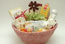 Custom Gift Baskets / Uniquely designed for special events and occasions / by Mary at Thoughtful Presence
