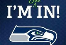SEAHAWKS!! / by Julie Taylor