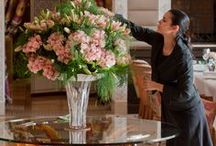 Floristry at the Royal Mansour / Our florists at the Royal Mansour design floral creations to inspire our guests.