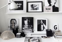 // At work // / Offices - Office decor - Perfect places to work - Interior design