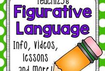 A+ FIGURATIVE LANGUAGE for Teachers / Figurative Language Resources for K-3 teachers. / by Teach123