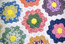 Quilts - Hexagons / by Wanda Eash