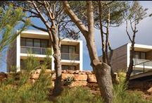 Martinhal Beach   Conran and Partners / Martinhal Beach is a resort village near Cape St Vincent in the Algarve, known as 'finis terrae', Europe's literal and mythical 'end of the earth'. We designed a cluster of villas and a hotel that work naturally with the landscape and preserve and protect the unique local flora. Collaborating very closely LHM Hotels, we drew up a masterplan and detailed planning application for the new village.