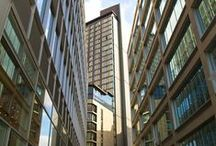 St Paul's Apartments   Conran and Partners / We were commissioned to work on St Paul's Tower, Sheffield's tallest building. The scheme com-prises two linked two buildings as well as commercial and public space. The slender towers create both original and elegant architectural forms, ensuring a lasting contribution to the skyline. The building incorporates extensive glazing, warm stone cladding, specially made terracotta rain screen, copper cladding and bronzed aluminium louver panels, creating a distinctive and memorable schemes.