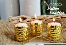 Luzes! / Lustres, velas e abajures DIY (ou não) lindos!