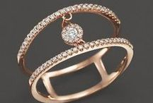 Diamond Rings / Diamonds complement your look with a ring that lasts a lifetime and carries sentimental value.  Allurez Jewelers offers a wide selection of rings that include classic eternity bands, stackable rings, unique right hand fashion rings, wide band rings, milgrain edged rings with filigree designs,  diamond promise rings, and lots more.  www.Allurez.com / by Allurez