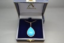 Gemstone Necklaces & Pendants / Add rich color to beautify your appearance!  Allurez Jewelers offers a large selection of different styles and shapes of Gemstone Necklaces & Pendants for you to choose from.  www.Allurez.com / by Allurez