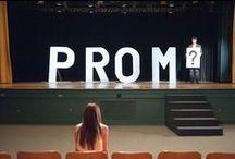 How to Ask Someone to Prom / That's right, The Heart Bandits plan Prom-posals too.  Here is some inspiration for figuring out how to ask someone to prom in a unique way! / by The Heart Bandits