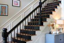 Foyer + Stairs + Hallway