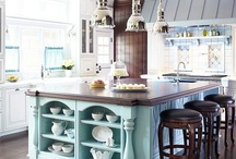 Kitchen & Bath / Great designs for kitchen and bath, including kitchen and bath accessories.  From great colors, to wonderful countertops and cabinets, to choice of flooring we pin what we like.
