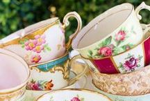 Teacups and Lace / Tea parties, dolls, and frilly things. / by Heather D