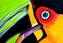 birds in art / by Susan Joe