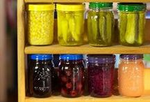 * Pickling and Canning / Pickles of all types, canning recipes and tips, recipes for pickles. / by Heather D