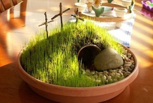 """Easter & Spring  / Let every man and woman count himself immortal.  Let him catch the revelation of Jesus in his resurrection.  Let him say not merely, """"Christ is risen,"""" but """"I shall rise.""""  ~Phillips Brooks  / by Judith Fisher"""