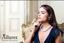 Pearl Necklaces & Pendants / This is just a glimpse of our incredible collection of pearl necklaces and pendants. Many of our designs feature both diamonds and pearls. Call our pearl jewelry experts at 1-800-554-3509 or email us at service@allurez.com / by Allurez