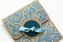 Stampin Up inspirations / ideas and inspirations for future Stampin up creations