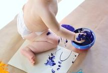 Baby/tot activities ::: Atividades p/ bebes / Baby and toddlers activities & Busy bags DIY ideas.