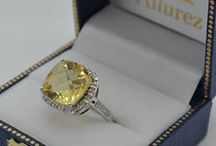 Citrine Engagement Rings / Beautiful Yellow gemstone Citrine is very affordable which will make your day special. If you have short budget than this is best option. Shower your feelings on her on a very special day. / by Allurez