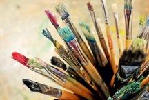 "Art Studio /  ""Creativity takes courage."" ~Henri Matisse"