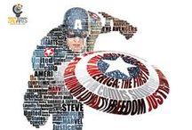Captain America / by Tina Peacock