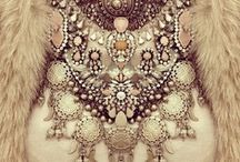Shine On / precious metals, stones, crystals, glitter, sequins, rhinestones, and things that shine...