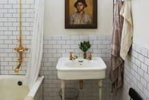 bathrooms / by White + Gold Design
