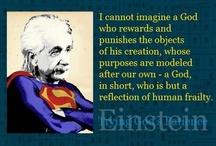 Einstein / www.facebook.com/SueFitz50 / by Sue Fitzmaurice Author