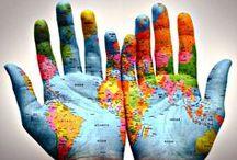 Unity in Diversity / www.facebook.com/SueFitz50 / by Sue Fitzmaurice Author