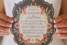EVENT _STATIONERY / by Sinéad McCahey