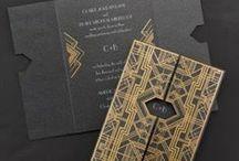 Cartões • convites • menus