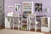 Craft Rooms & Craft Storage / by Becky Perry