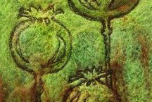Felting /   / by Creative Cloth | Linda Matthews