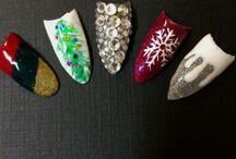 Holiday Nails / Christmas and Hanukkah