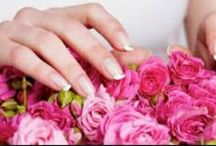 Beautiful Wedding Flowers / Wedding Bouquets and Nails
