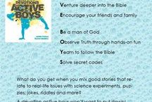Active Boys and faith / Fun and devotional activities for boys