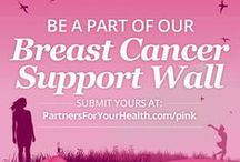 Breast Cancer Support Wall / This album is dedicated to those who have been affected by breast cancer. In honor of National Brest Cancer Awareness Month, family members, friends and loved ones are all encouraged to create their own message of inspiration and support to share with the world.