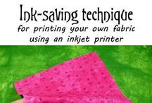 Design & Print Your Own Fabric / If you love to design and print your own fabric, you'll love these resources. More at www.Creative-Cloth.com / by Creative Cloth | Linda Matthews