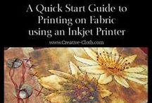 Digital Fabric and Design / Learn about digital fabric and design www.Linda-Matthews.com