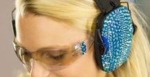 Eyes & Ears at GunGoddess.com / Protect your eyes and ears without sacrificing style and personality! https://www.gungoddess.com/collections/eye-ear-protection