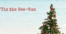 Holidays By The Sea / Ideas and home decor for celebrating the holiday season with friends and family at the coast and shore!