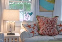 "Beach Cottage Love / Beach home decorating ideas with a definite focus on ""cottage"" style!"