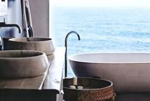 Beach Bathroom Ideas! / Collecting ideas for decorating beach or nautical styled bathrooms!  Always searching for the fabulous and unique