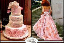 Cakes/Pasteles...... <3 / Ideas para Clairis Fondant Boutique :) / by Claudia Lona-Cardenas