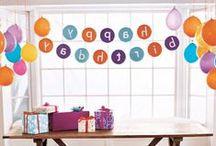 KIDS' BIRTHDAY PARTY IDEAS / KIDS' BIRTHDAY PARTY IDEAS