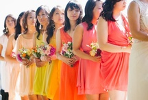 Love colorful weddings / #colorful wedding pictures & inspirations