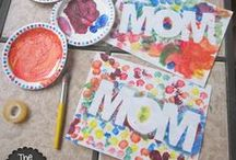 MOTHER'S DAY & FATHER'S DAY CRAFTS FOR KIDS