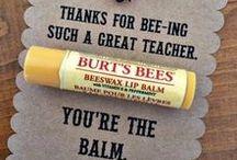 TEACHER THANK YOU GIFTS & CRAFTS