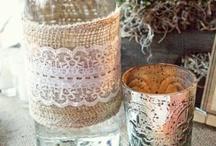 Burlap & Lace Wedding Inspiration