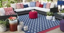 America the Beautiful-Nautical Style / Red, White and Blue Styling - with a special touch of nautical, beach themed decorating.  Enjoy our collection of entertaining (easy) ideas Fourth of July celebrations for family and friends on the coast! Party ideas, table settings, and plenty of fun -